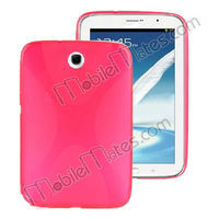 Hot Selling X Shaped TPU Gel Cover Case for Samsung Galaxy Note 8.0 N5100 Tab