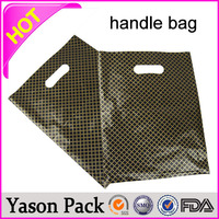 YASON punch handle fold over die cut bagnew products soft loop handle shopping bagbrown paper bags with hole handle