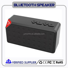 Portable Wireless Bluetooth Speaker Boombox Subwoofer with Power Bank & Mic