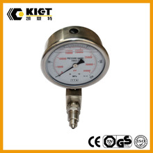 High pressure stainless steel pressure gauge