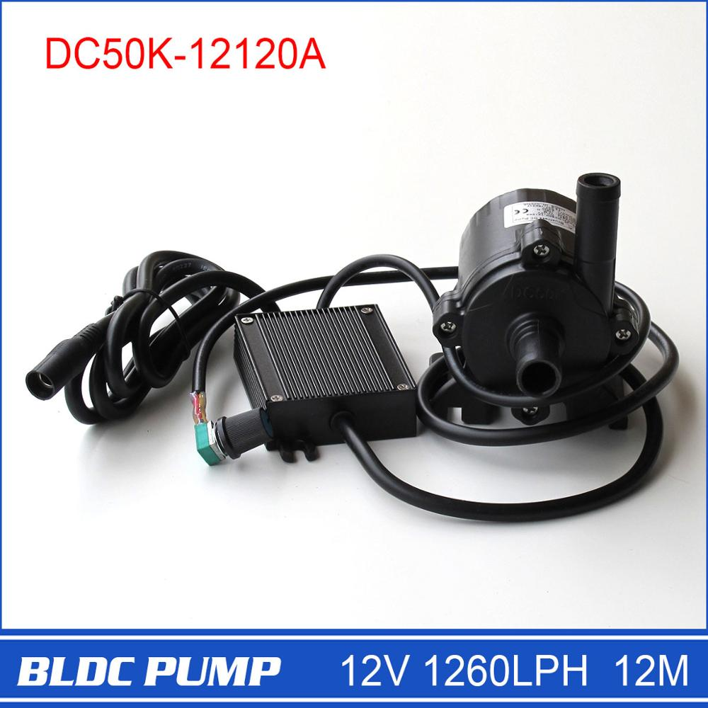 12 volt Water Pump with high pressure, adjustable, long lifespan