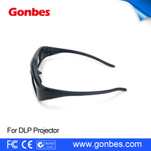 Newest cheap 3D Active Shutter Glasses 96-144Hz for LG/BENQ/ACER DLP Link 3D Projector
