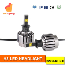 China supplier Motorcycle / car accessories h3 motorcycle offroad led headlight