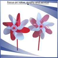 Plastic durable colorful windmill blades