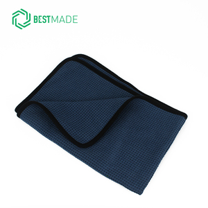 40*60cm car cleaning waffle weave microfiber drying towel