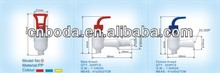 White plastic tap with modern designer in China plastic taps for water dispenser