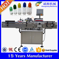 2015 hot sale automatic e cigarettes juice labeling machine,e cigarettes labeling machine,bottle labeling machine