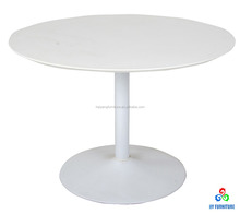 Single short leg coffee table with round top wholesale