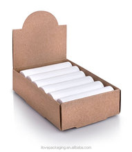 Lip Balm Counter Display Box - Kraft (Holds 12 Tubes)