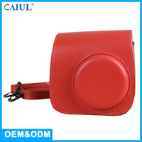 Instant Waterproof Mini8 Red Color Decorative Camera Bag Case For Mini8 Instax Camera