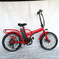 2017 rear rack 750W folding electric bicycle