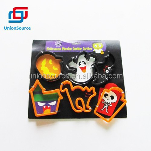 2015 the Latest Price Halloween Durable Plastic Shaped Cookie Cutters