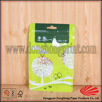 Recyclable materials plastic spice packaging