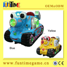 Amusement hotsale coin operated kiddie ride, plastic kids electronic ride