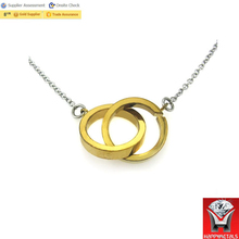 women gold name wedding ring holder necklace