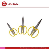 "8-1/2"" Kitchen scissor with sheath with abs handle"