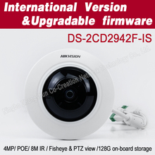 4mp cctv camera hd DS-2CD2942F-IS fisheye ip camera