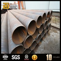 ssaw/sawh water steel pipe , awwa c200 steel pipe culvert spiral welded carbon steel pipes