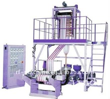 Two color Strip PE Film Blowing Machine