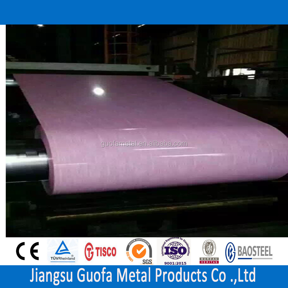 Corrosion Free Decorative 3005 0.1mm-5.0mm Color Coated Aluminum Rolls