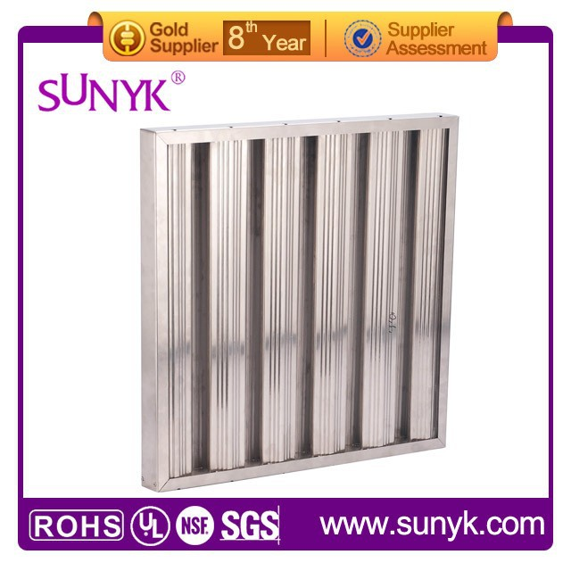 food grade Custom Size stainless steel baffle filter from gold supplier on alibaba