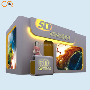 Factory Motion Simulator 5D Cinema Hydraulic System 5d 9d cinema