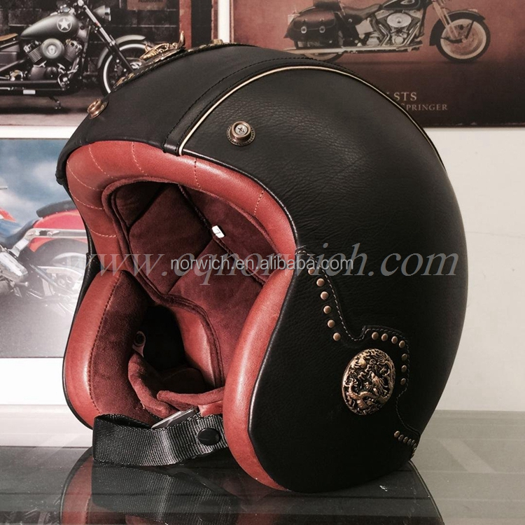 High Quality DOR Certification HALF FACE MOTORCYCLE HELMET