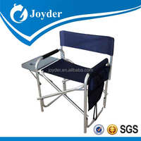 polyester JD-3007 vintage aluminum folding webbed lawn chair rocker with cheap price