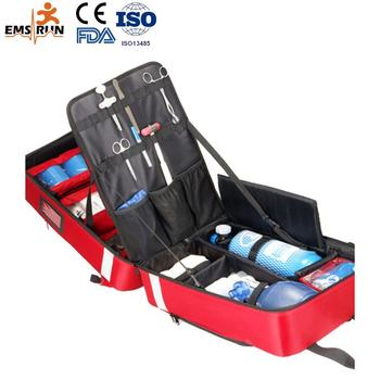 Cheap high quality medical first aid kit with customized printing and wholesale kits