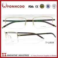 FONHCOO China Glass Optical Medicated Fashion Titanium Glasses Spectacle Frame