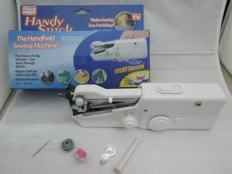 Maquina Coser Mini Portatil Handy Stitch