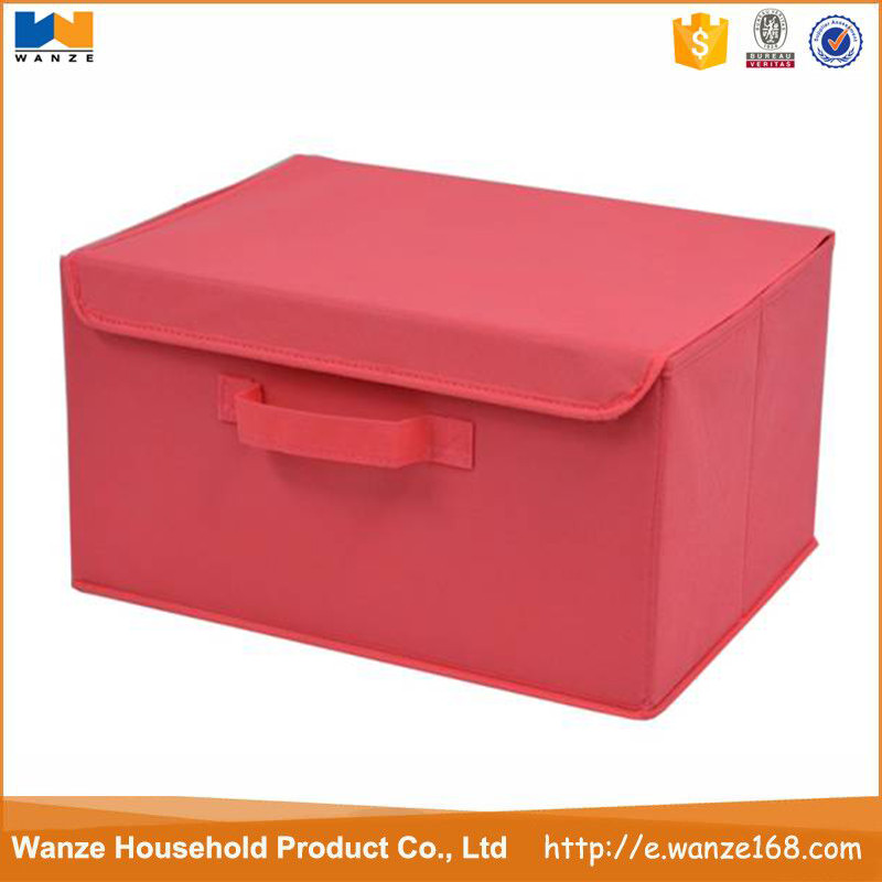 High Quality multipurpose Non-woven/Polyester Storage Container,storage box