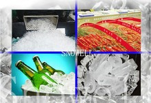 new tech 3TON per day tube ice machine with famous accessories