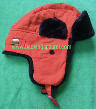 fox fur hat eskimo snow hat