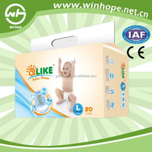 China Super Absorbent Baled Disposable Baby Napkin healthy care nappies