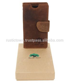 Leather phone 5 Case Wallet With Card Holders