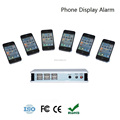 Best sell High Quality Multi-ports anti-lost alarm cell phone alarm display
