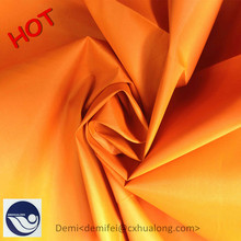 Hualong Silk in Changxing City Textile fabric china manufacturers for suit fabric of men / 190t polyester taffeta fabric