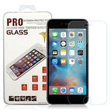 Anti-broken anti-scratch tempered glass screen protector for iphone 6 plus