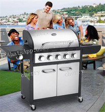 Smoke-free electric charcoal barbecue grill pits with lava rock indoor kitchen restaurant charcoal grill