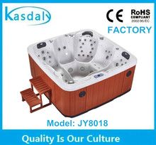 balboa whirlpool 5 person outdoor spa tub and bathtub