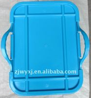 "Square plastic storage box with lid ""REACH"" standard"