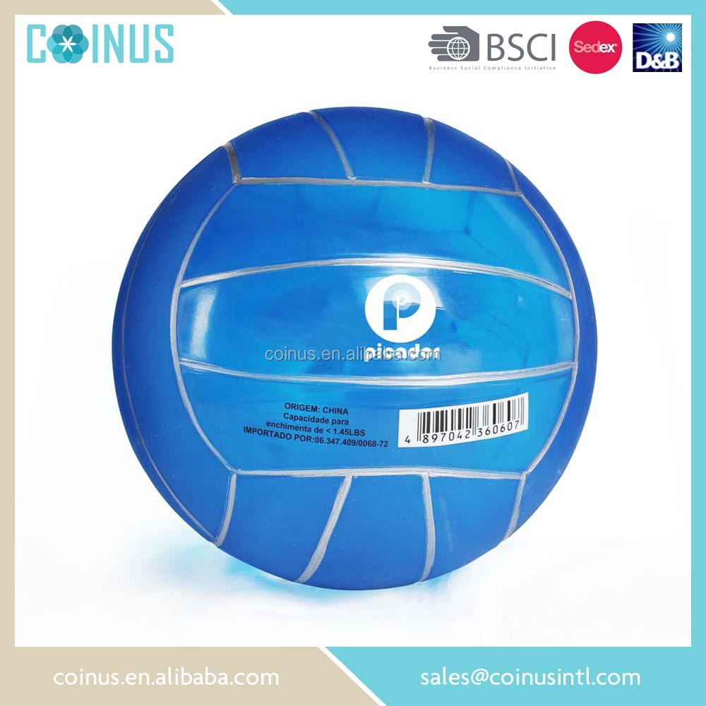 PVC soft beach water volleyballs