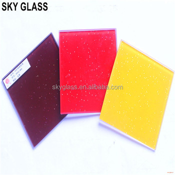 3mm 4mm 5mm 6mm Different Color Painted Glass With FENZI Paint