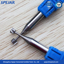 hard alloy carbide end mill cutters dovetail cutter for sale