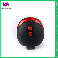 2016 hot selling waterproof plastic rear tail laser bicycle led light