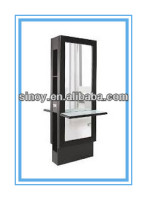 Hot seller top quality 1.1mm to 8mm black salon station mirrors