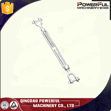 Small Size Turnbuckle US type Drop forged Wire RopeTurnbuckle with Jaw and Jaw