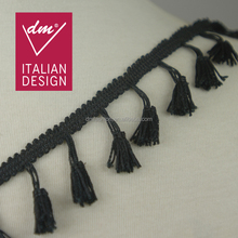 Tassel lace trimming lovely italy design for garment