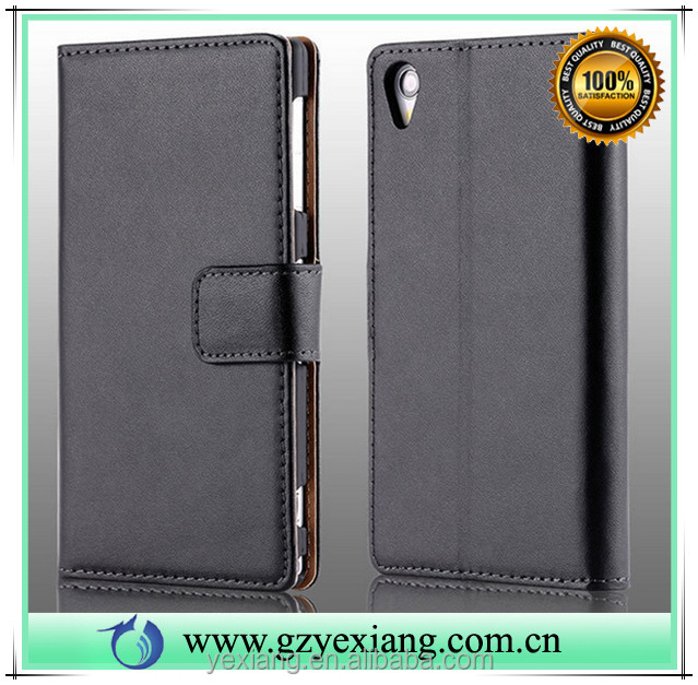 Hot new products for 2016 wallet leather cover for Samsung galaxy s2 pu leather flip stand case with card holder